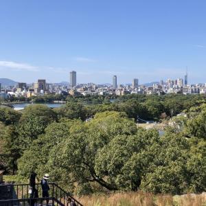 福岡市内の丘巡りジョギング
