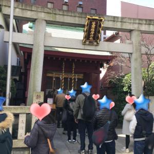 ◎2/24(月祝)に日本橋七福神めぐりをしよう!お散歩で友達作りを開催しました!