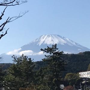 富士山0合目で朝日と赤富士と、龍神様に遭遇