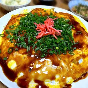 広島お好み焼き♡酢鶏で晩酌♪カンパ~イ