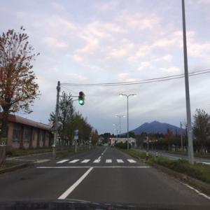 今朝の岩木山