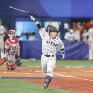 侍JAPANアメリカにサヨナラ勝利!金メダルまであと2つ!