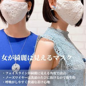 女が綺麗に見えるマスク