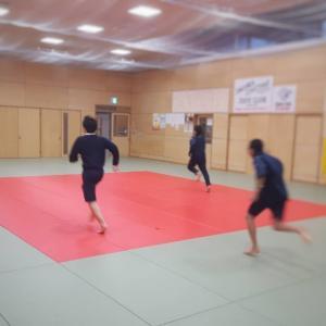 道場トレーニング!