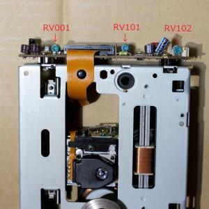 SONY CDP-502ES 修理 その8