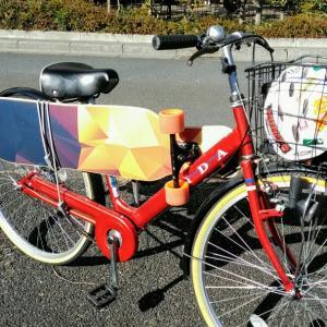 ロンスケを自転車に