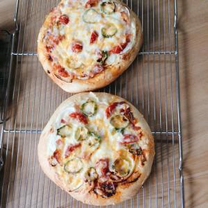 パンレッスン☆ピザとクリームパン