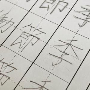 漢字の宿題が大変な理由(秩序の敏感期)