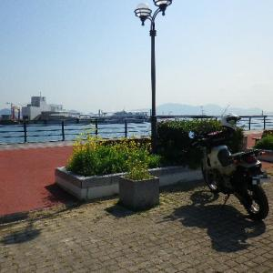 福岡県宗像市・筑前大島ツーリング3 津和瀬ポルトガル人漂流の地でウンを洗い流す。