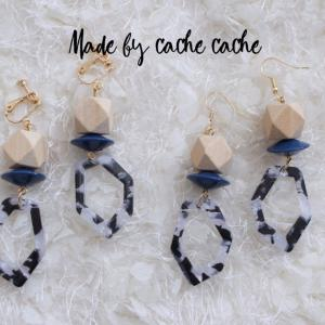 ハンドメイドアクセサリー♡︎cache cache accessory