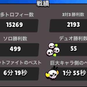 【ブロスタ】ソロ勝利500勝までマジック1