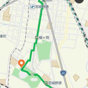 【7.26仙台野球観戦】楽天パークから仙台まで脱出