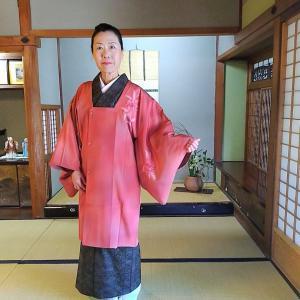 石下の結城に大人ピンクの道行で奈良へ