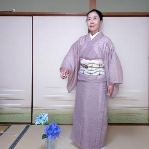 お出掛け想定キモノで奈良ホテルへ