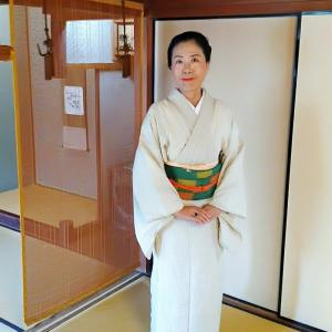 蚊絣で奈良へ