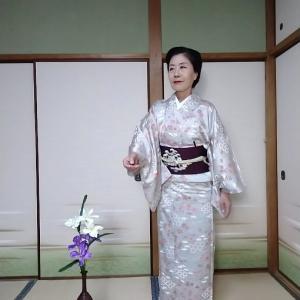 想定着物ではんなりコーディで京都