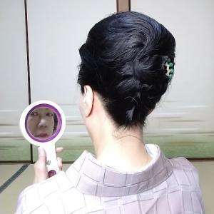 和髪に思いを込めて