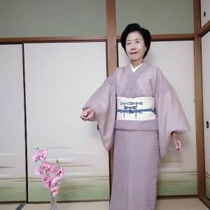 想定きもの 琉球壁上布で大阪市立美術館へ
