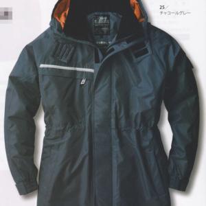 【防寒着】ジーベック 581 防水防寒コート ~耐水圧10,000mm・透湿性2000g~