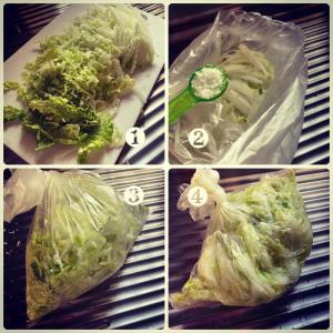 recipe☆白菜を食べましょう