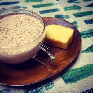 soramama café☆チャイ&チーズケーキ