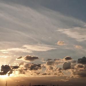 雲のある楽しい空!