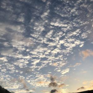 秋らしい雲