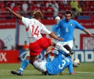 サッカー元イタリア代表FWクリスチャン・ヴィエリ氏「俺が韓国人なら、恥ずかしいって思うだろう」
