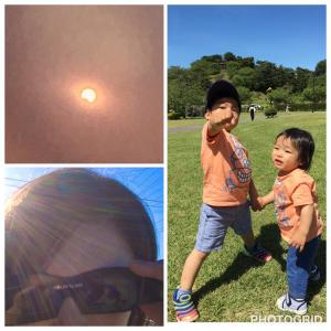 夏至の日食