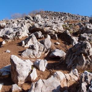 石灰岩眩し