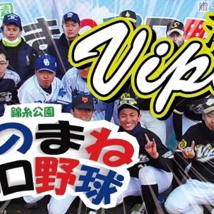 錦糸公園ものまねプロ野球 vs湘南ヴァイパー