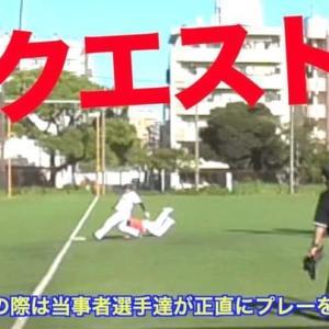 錦糸公園ものまねプロ野球特別ルール「リクエスト」