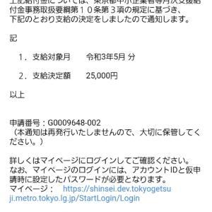 月次支援給付金申請(最大20万円)申請方法