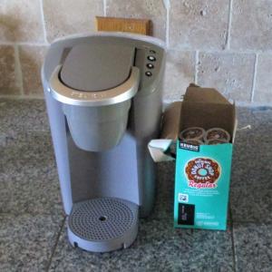 住人が置いていったコーヒーメーカー