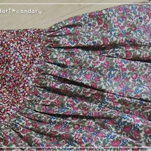 贅沢ギャザースカートが可愛すぎてはまる