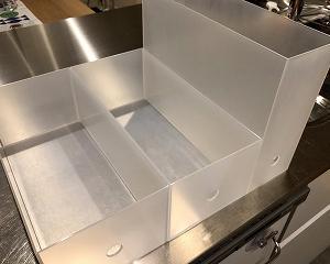 ファイルボックスを2階建て仕様に