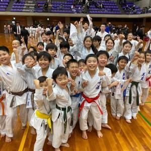 第7回こぶし杯少年少女空手道選手権大会
