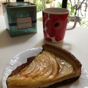 フランス産アップルのタルト