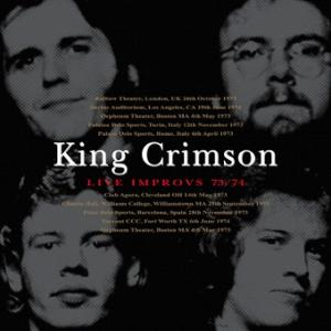 King Crimson - Live Improvs 73/74 (Gift CDR)
