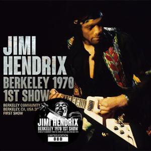 Jimi Hendrix - Berkeley 1970 1st Show (No Label)