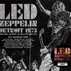 Led Zeppelin - Detroit 1973 (No Label)