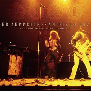 Led Zeppelin - San Diego 1975 (No Label)