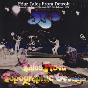 Yes ー Four Tales From Detroit (Amity 170)