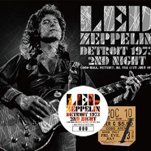 Led Zeppelin - Detroit 1973 2nd Night (No Label)