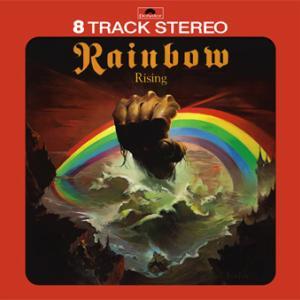 Rainbow - Rising : US 8 Track Tape (No Label)