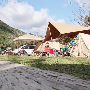11月キャンプ初体験、南光でグルキャン