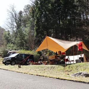 こんな時だからこそキャンプ!丹波篠山渓谷の森へ