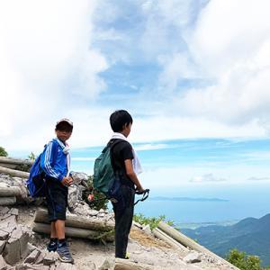 大山に登ったどーーっ!