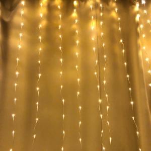 お部屋にライティング カーテン
