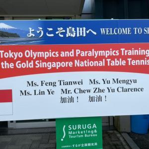 シンガポール卓球チーム